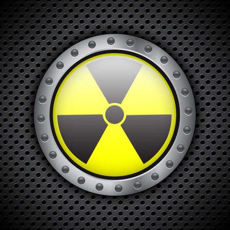 radiation sign: Radiation sign