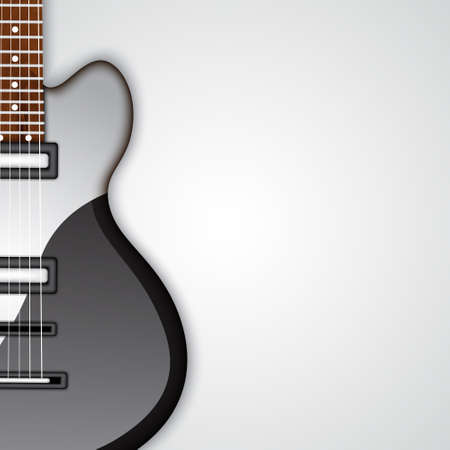 adulation: Electric guitar Illustration