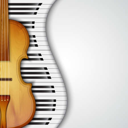 Background with violin