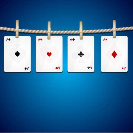 solitaire: Four aces