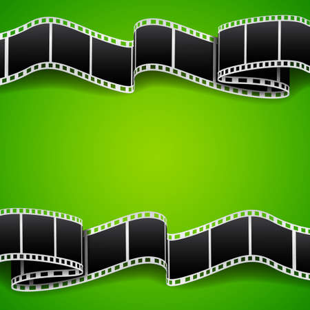video reel: Background with film reel