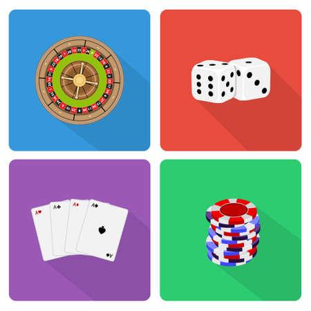 las vegas metropolitan area: Casino icons