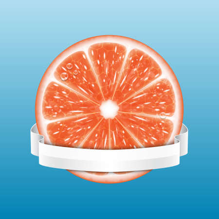 grapefruit: Grapefruit slice