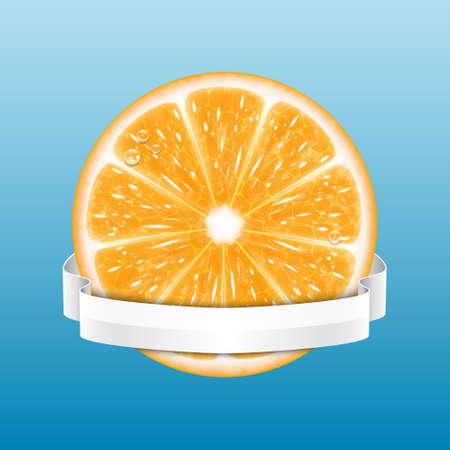orange slice: Orange slice
