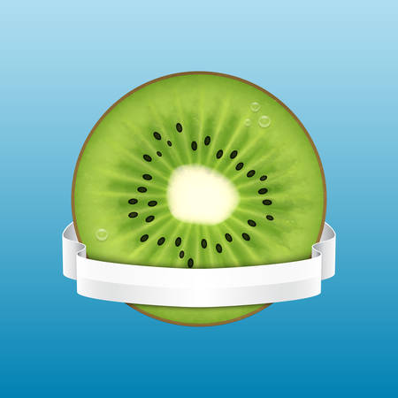 kiwi: Kiwi slice