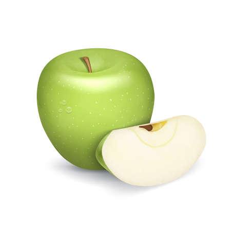 lobule: Green apple