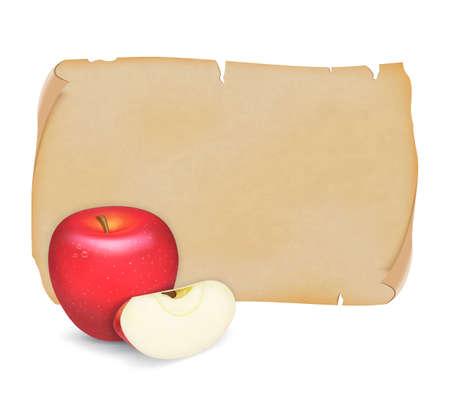 lobule: Red apple