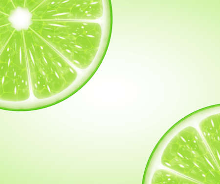lime: Lime slices
