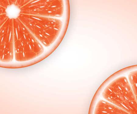 slices: Grapefruit slices