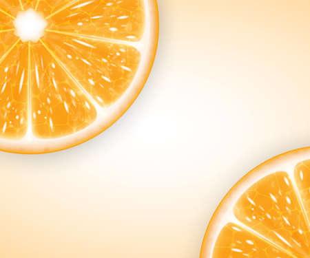 orange slices: Orange slices