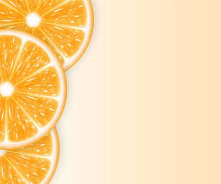 slices: Orange slices