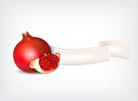 pomegranate: Pomegranate Illustration
