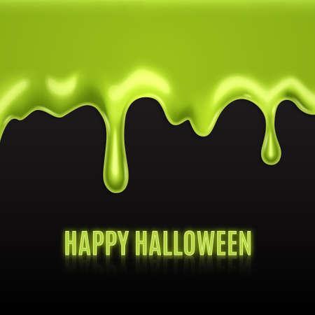 Green slime Reklamní fotografie - 63698699