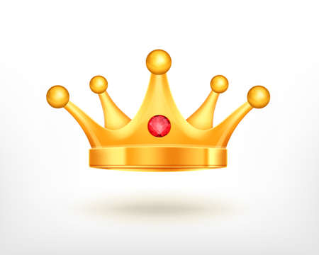 Icon of golden crown