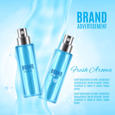 Freah aroma spray ads