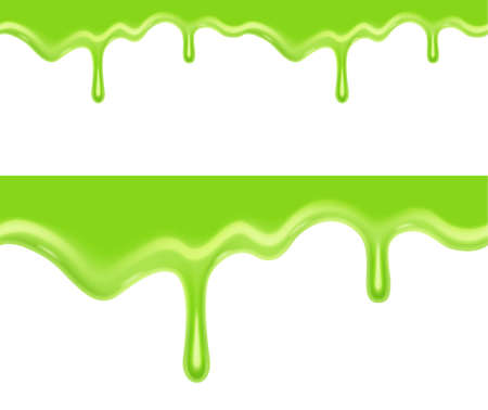 Seamless green slime. EPS10 vector