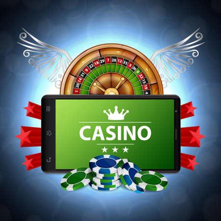 Online casino concept Stock fotó