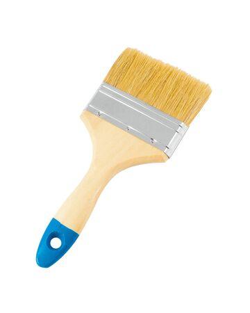 White paint brush isolated Banco de Imagens