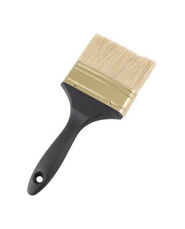Black paint brush isolated Banco de Imagens