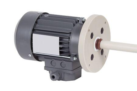 AC motor isolated on white.