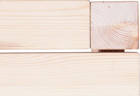 Empty wood desk surface background, wood texture isolated on white