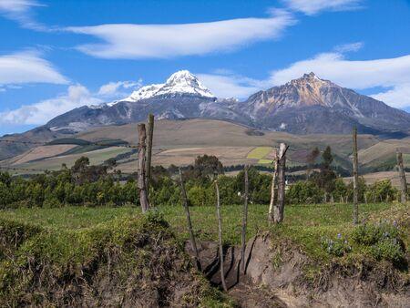 andes: Ilinizas volcano, Ecuadorian Andes