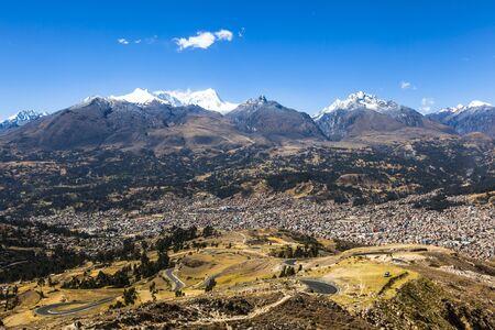 blanca: Cordiliera Blanca, Huaraz, Peru, South America