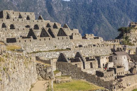 machu picchu: Machu Picchu, was designed Peruvian Historical Sanctuary in 1981