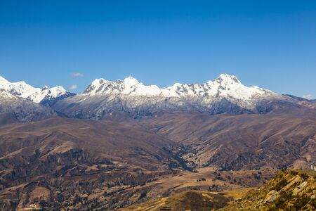 blanca: Cordiliera Blanca, Peru, South America