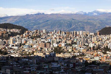 Residential and commercial modern Quito, Ecuador