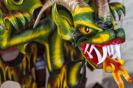 diabolic mask in Pillaro