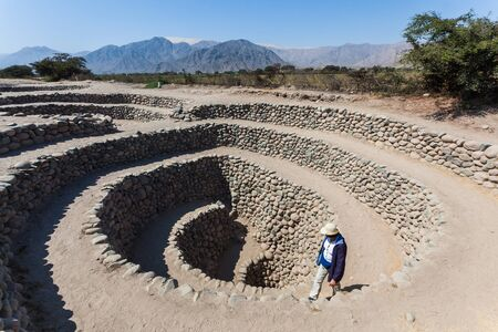 Aqueducts of Cantalloc, puquios built by the Nazca people