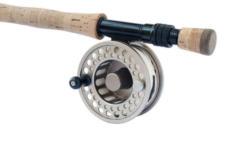 Rod and reel for 8 wieght fishing rod Stock Photo - 6160175