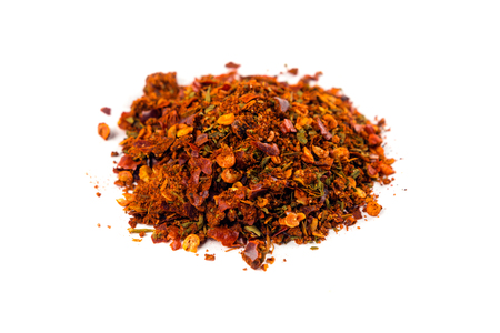 Cajun spice mix isolated on white background Imagens