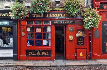 Temple Bar a Dublino / Irlanda