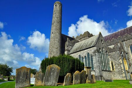 St Canices Cathedral in Kilkenny - Ireland