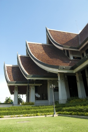 compile: Thai museum in sunshine day