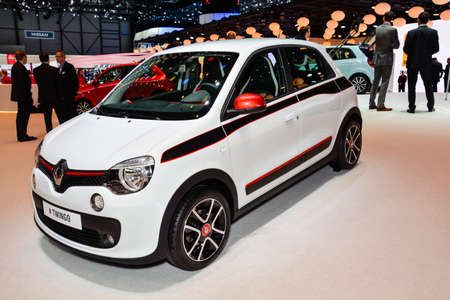 Renault Twingo on display during the Geneva Motor Show, Geneva, Switzerland, March 4, 2014.  Editorial