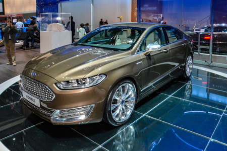 Ford Vignale on display during the Geneva Motor Show, Geneva, Switzerland, March 4, 2014.  Editorial