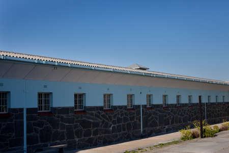 robben island: Nelson Mandelas Cell Block at Robben Island Prison