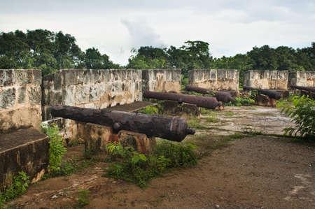 Cannons at the Fortaleza Ozama, Santo Domingo, Dominican Republic photo