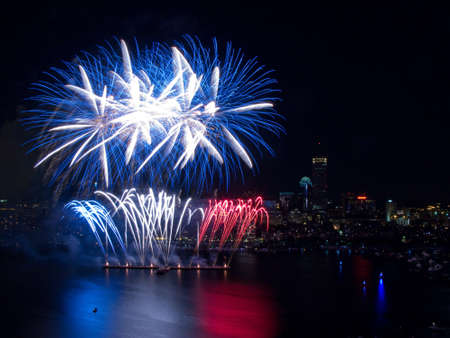The 4th of July celebration in Boston, Massachusetts Stock Photo - 16125423