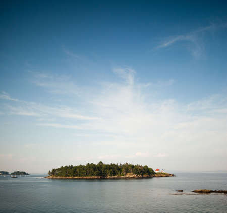 curtis: Curtis Island and lighthouse off Camden, Maine