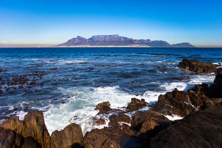 robben island: Table Mountain, Cape Town, South Africa