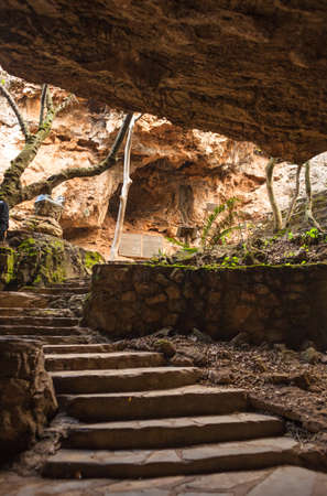 gauteng: Inside the Cradle of Humankind archaelogical cave