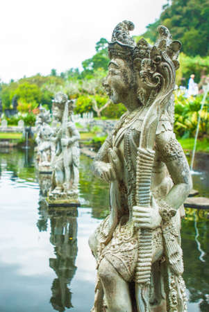 Statue at the Tirtagangga Water Palace in Bali Stock Photo - 16344284