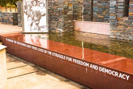 Hector Pieterson Memorial Site, Soweto, Johannesburg, South Africa Editorial