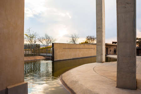 gauteng: Entrance to the Apartheid Museum, Johannesburg, South Africa