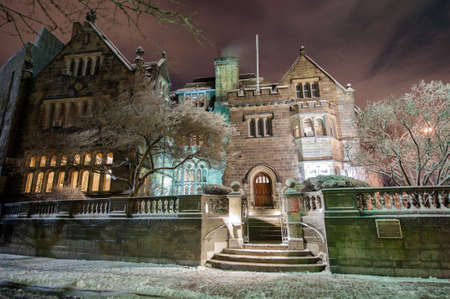 Boston Universitys Tudor Revival mansion The Castle