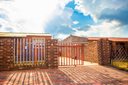 House gate, Johannesburg